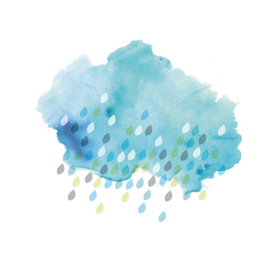 art prints - It rains but it's good by Tanya