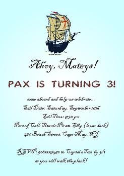 Ahoy, Matey's