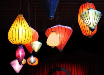 Georgetown Ballroom Lanterns Art Prints
