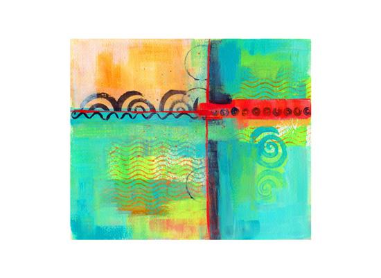 art prints - Crossroads by Laura Bolter Design