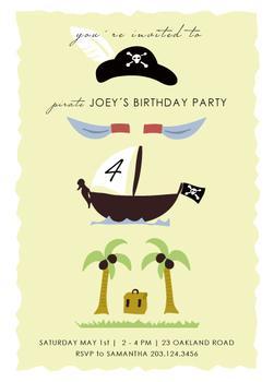 Pirate Birthday Tower