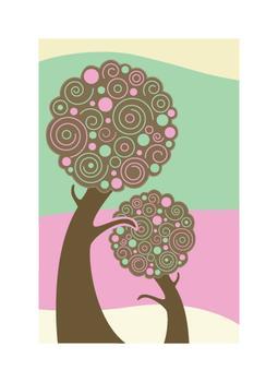 Swirled Trees