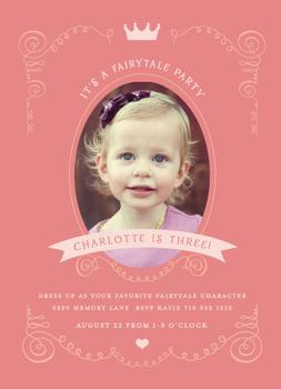 Fairy Tales Party Invitations
