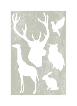 Animal Silhouettes Art Prints