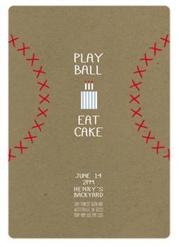 Play Ball Eat Cake