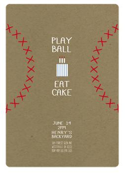 Play Ball & Eat Cake