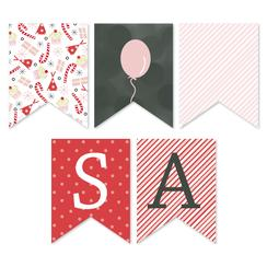 Birthday Monogram Party Decor