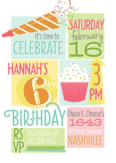 party invitations - Whole Lotta Fun by Jessica Williams