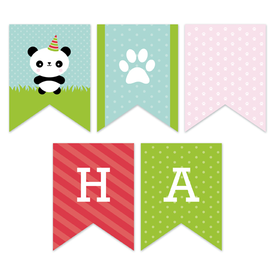 party decor - Party Panda by Genna Cowsert