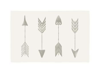 Vintage Arrows Art Prints