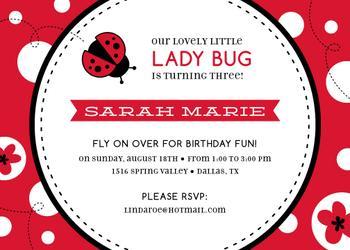 Lovely Little Ladybug