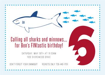 a FINtastic birthday