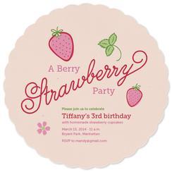 A Berry Strawberry Birthday
