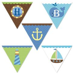 Ahoy Birthday Boy Party Decor