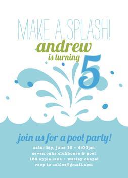 Make a Splash!!