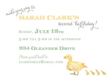 Make your way. . . Party Invitations