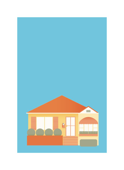 art prints - My Home In Los Angeles. by Shannon Losorelli