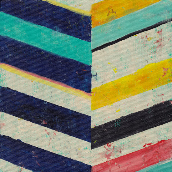 art prints - Weathered Stripes by Lindsay Megahed