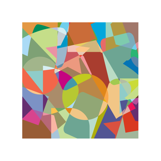 art prints - shapes & colors by aticnomar