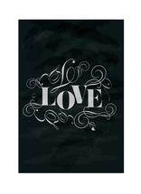 Chalkboard Love by Trendy Peas