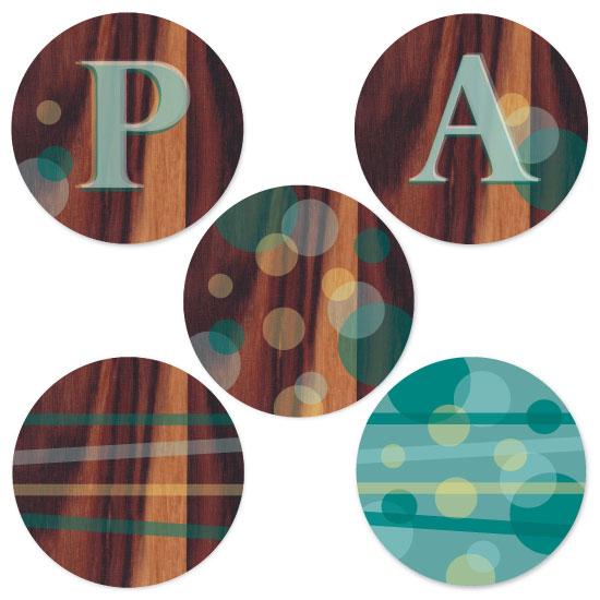 party decor - Wood Circles by Karina Padilla-Robinson