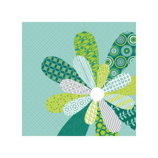 art prints - Aberrant Flower by Color Continuum