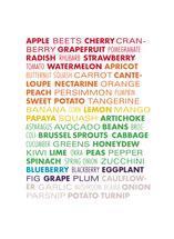 The Eating Rainbow by Amanda Buck