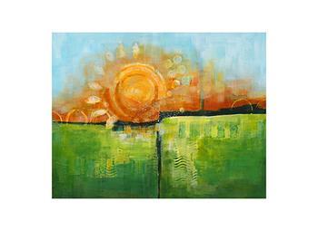Prairie Sunrise Art Prints