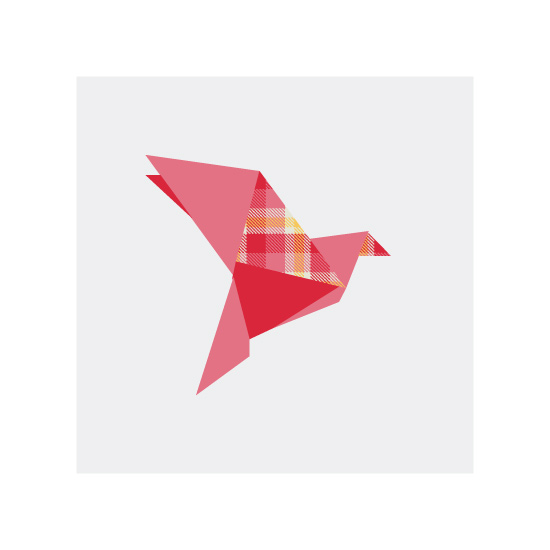 art prints - Origami Flight by Vanessa Wyler