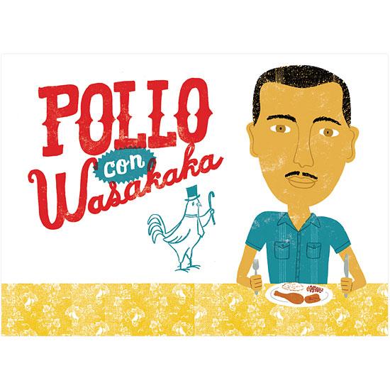art prints - Pollo con Wasakaka by John Coulter
