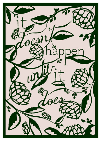 art prints - It All Happens by Meegan Neeb
