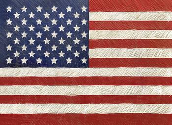 Beautiful Flag Art Prints