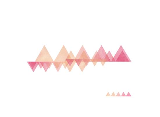 art prints - Triangle Horizon by Ashten Buxton