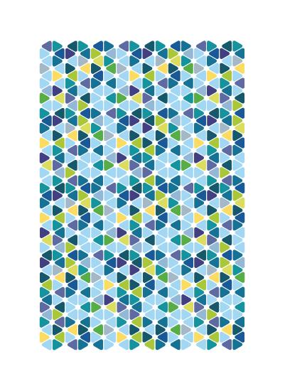 art prints - Tile Flowers by Ashten Buxton