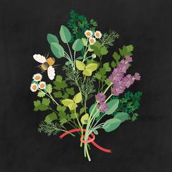Herb Bouquet Art Prints