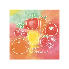 Eat Colorfully Art Prints