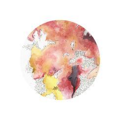 Watercolor Circle Two