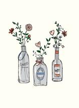 Glass Bottles by Paper Lovely