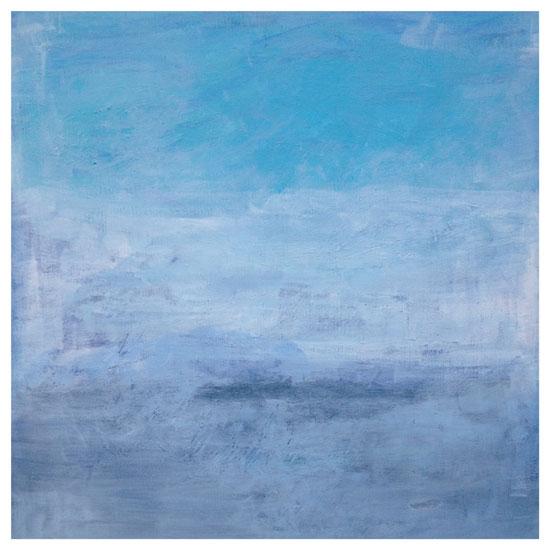 art prints - Ocean Blue by Allison Gill