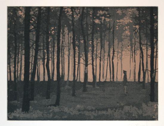 art prints - Woods by Chris Beck
