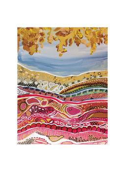 Earth Seams Art Prints