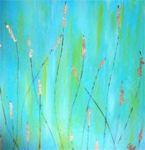 Cattails Are Calling by Christy Frank