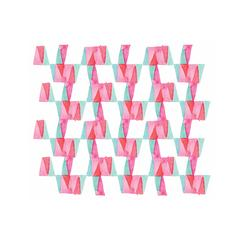Cotton Candy Triangles Art Prints