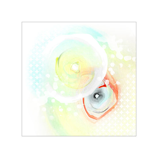 art prints - Full Circle 03 by Gleaux Art and Design