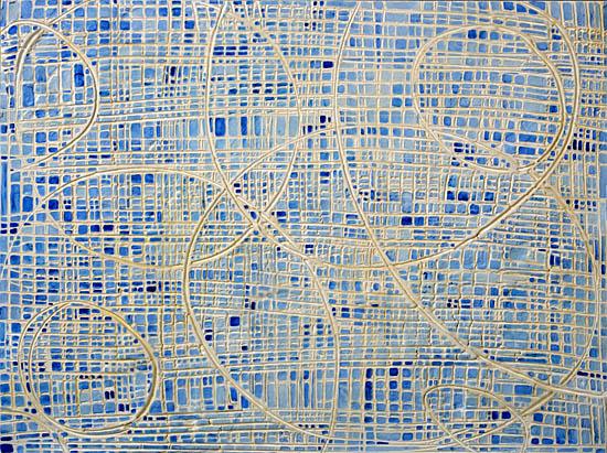 art prints - Modern Femininity in Blue No. 5 by Edie Brown