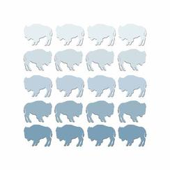 Wild Buffalos Art Prints