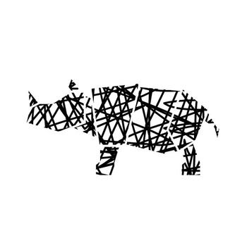 Scribble Rhino