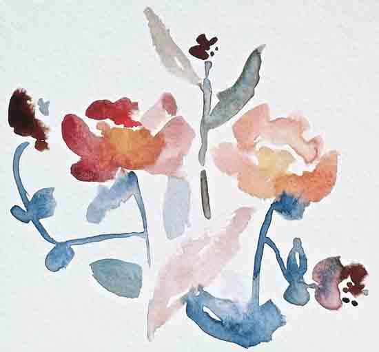 art prints - Bohemian garden No.1 by Kiana Mosley