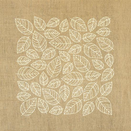 art prints - Linen Leaflets by Smudge Design