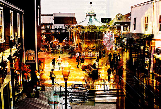 art prints - Pier 39 by Bryan Clocker